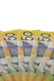 Aussie dollars. Stock Images