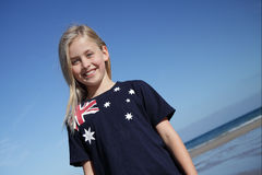 Aussie girl. Royalty Free Stock Photo