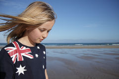 Aussie girl. Royalty Free Stock Photography