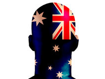 Aussie Head Royalty Free Stock Image