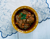 Aussie Jumbuck Stew. Australia   lamb  Dish Stock Photo