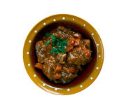 Aussie Jumbuck Stew. Australia   lamb  Dish Royalty Free Stock Photos