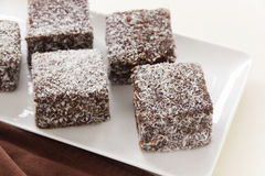 Aussie Lamingtons Imagem de Stock Royalty Free