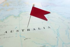 Aussie locator Royalty Free Stock Image