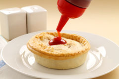 Aussie Meat Pie Royalty Free Stock Photo