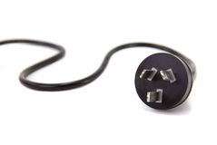 Aussie power cord. Stock Photography