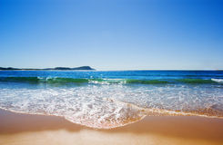 Aussie Summer Beach Stock Image