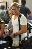 Aussie television cook Curtis Stone at LAX Stock Photography