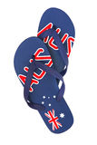 Aussie Thongs Stock Photos