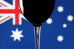 Aussie wine. Royalty Free Stock Images