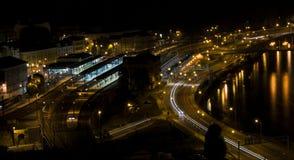 Aussig (NAD Labem Usti) Στοκ φωτογραφία με δικαίωμα ελεύθερης χρήσης