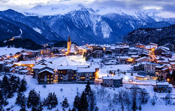 Aussois village France Royalty Free Stock Photo