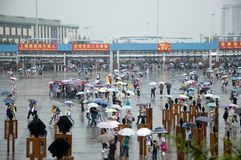 Ausstellung 2010 China-, Shanghai Stockfotos