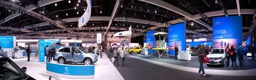 Ausstellung-Bereich 2010 Los- Angelesselbsterscheinen-Honda-Ford Stockbilder