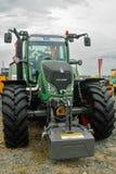 Ausstellung der landwirtschaftlichen Maschinerie Tyumen Russland Stockfotografie