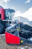 Ausstellung der landwirtschaftlichen Maschinerie Tyumen Russland Lizenzfreie Stockbilder