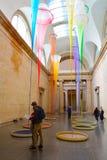 Ausstellung der modernen Kunst in Tate Britain, London, Großbritannien Lizenzfreies Stockfoto