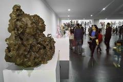 Ausstellung der Skulptur Stockfotos