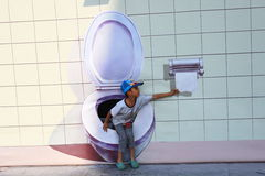 Ausstellung des Bildes 3D Lizenzfreie Stockbilder