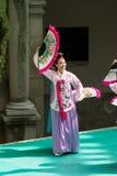 Ausstellung des koreanischen Tanzes Stockfotografie