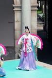 Ausstellung des koreanischen Tanzes Stockfoto
