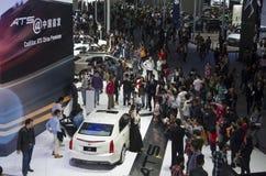 Ausstellung 2013 GZ AUTOSHOW-Cadillac übersehen Stockfotografie