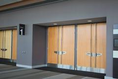 Ausstellung Hall Doors Stockfoto