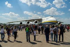 Ausstellung ILA Berlin Air Show 2018 Stockfoto