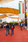 Ausstellung 2015, Mailand Lizenzfreie Stockfotos