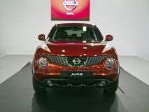 Ausstellung mit 2013 neue Autos Lizenzfreie Stockbilder