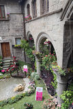 Ausstellung San Pellegrino in Fiore in Viterbo - Italien Lizenzfreie Stockbilder