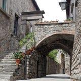 Ausstellung San Pellegrino in Fiore in Viterbo - Italien Lizenzfreies Stockbild