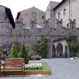 Ausstellung San Pellegrino in Fiore in Viterbo - Italien Stockfoto