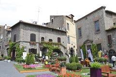 Ausstellung San Pellegrino in Fiore in Viterbo - Italien Lizenzfreie Stockfotos