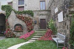 Ausstellung San Pellegrino in Fiore in Viterbo - Italien Stockfotografie