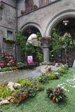 Ausstellung San Pellegrino in Fiore in Viterbo - Italien Stockbilder