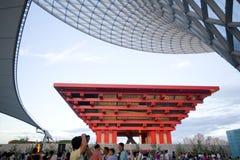Ausstellung Shanghai-China Pavillion 2010 Stockfotos