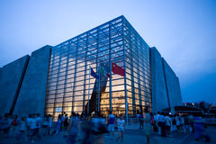 Ausstellung Shanghai-Italien Pavillion 2010 Stockbild