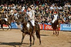 Ausstellung-Viehbestand und landwirtschaftliches Argentinien Stockfotografie