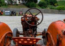 Ausstellung von alten Traktoren Lizenzfreie Stockbilder