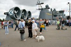 Ausstellung von Marineschiffen Lizenzfreie Stockbilder