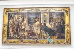Ausstellungen im Alte das alte National Gallery-Museum auf Museumsinsel in Berlin Germany Stockbild