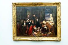 Ausstellungen im Alte das alte National Gallery-Museum auf Museumsinsel in Berlin Germany Lizenzfreies Stockfoto