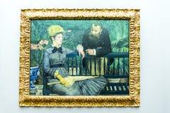 Ausstellungen im Alte das alte National Gallery-Museum auf Museumsinsel in Berlin Germany Lizenzfreie Stockbilder