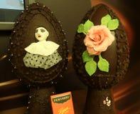 Ausstellungen in Schokolade-Herstellungsschule Perugina lizenzfreie stockbilder