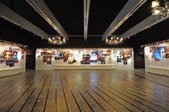 Ausstellunghalle im nationalen großartigen Theater Stockfotos