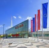Ausstellungmitte Wien benannt   Lizenzfreie Stockfotos