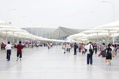 Ausstellungs-Mittellinie in Expo2010 Shanghai lizenzfreies stockfoto