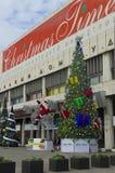 Ausstellungs-Weihnachtszeit 2014, Moskau, Russland Lizenzfreies Stockfoto