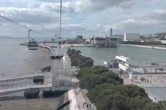 Ausstellungsbereich in Lissabon - Lissabon Lizenzfreie Stockbilder